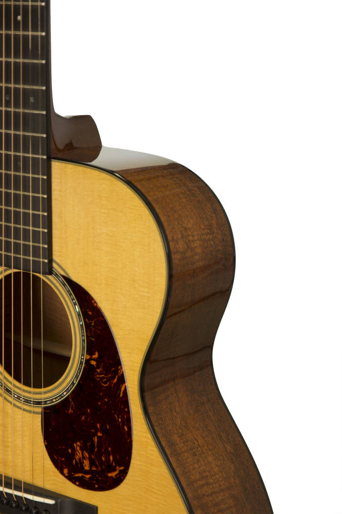 martin guitars l m custom 000 18 flame mahogany acoustic guitar with case long mcquade. Black Bedroom Furniture Sets. Home Design Ideas