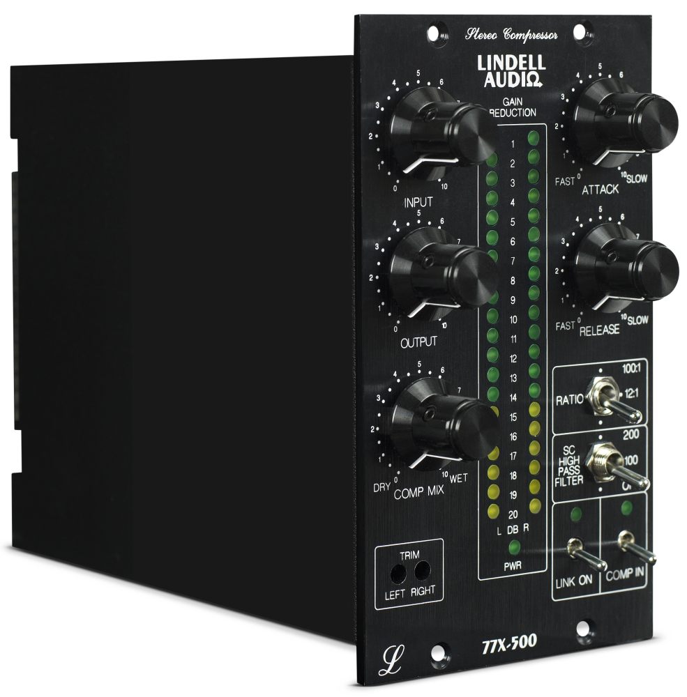 lindell audio 500 series stereo compressor long mcquade musical instruments. Black Bedroom Furniture Sets. Home Design Ideas