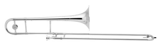 .525'' Ml Bore Tenor Trombone w/ 8'' Bell - Silver
