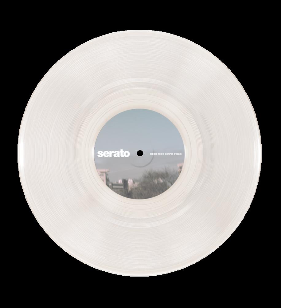 Serato 10 Inch Serato Control Vinyl Clear Glass Pair