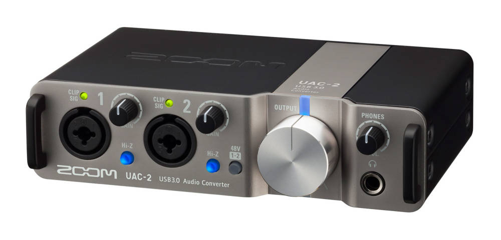 zoom 24 bit 192 khz 2x2 usb 3 0 audio interface long mcquade musical instruments. Black Bedroom Furniture Sets. Home Design Ideas