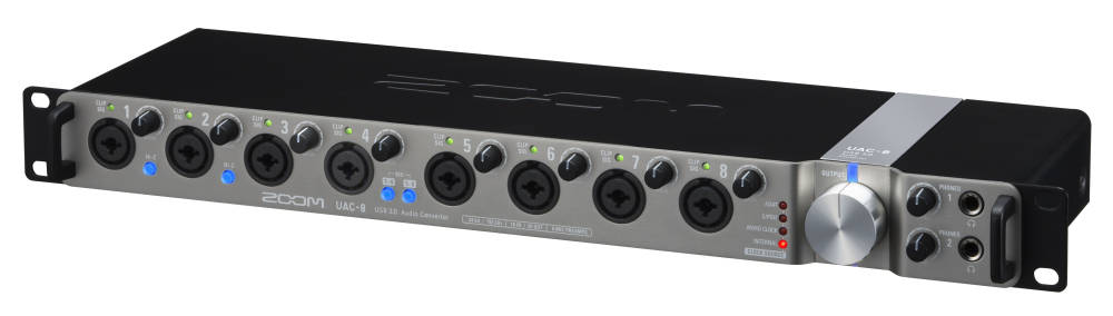 zoom 24 bit 192 khz 18 in 20 out usb 3 0 audio interface long mcquade musical instruments. Black Bedroom Furniture Sets. Home Design Ideas