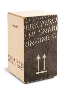 2-in-One Cajon Black Edition