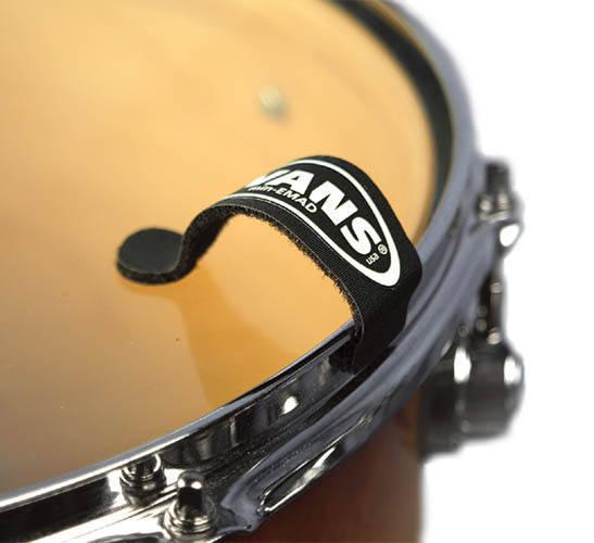 evans min emad tom and snare dampers long mcquade musical instruments. Black Bedroom Furniture Sets. Home Design Ideas