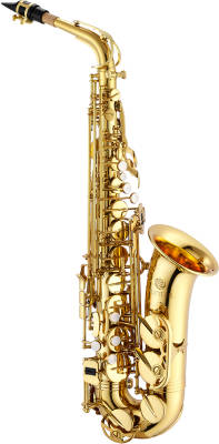 Alto Saxophone - Gold Lacquered, High F#