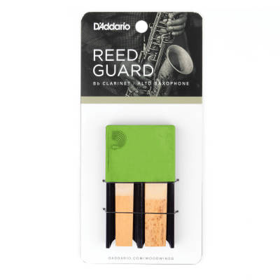 Clarinet/Alto Sax Reed Guard - Green