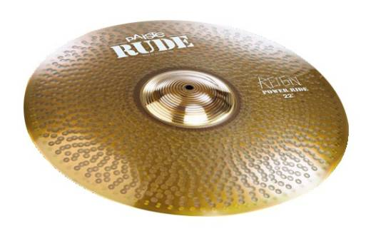 Rude 22'' Power Ride Cymbal - Reign Edition