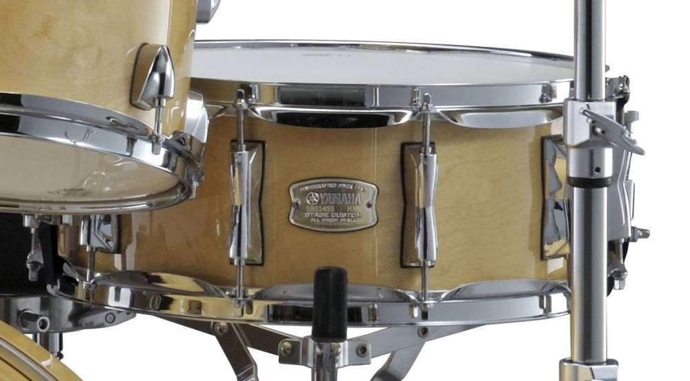 33790330dc85 Yamaha Stage Custom Birch Snare 14x5.5 - Natural Wood - Long   McQuade  Musical Instruments