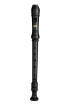 Carlton - 3 Piece Soprano Recorder - Black