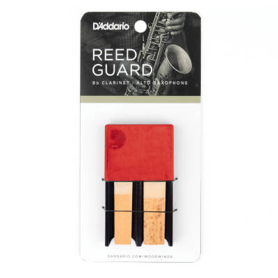 Clarinet/Alto Sax Reed Guard - Red