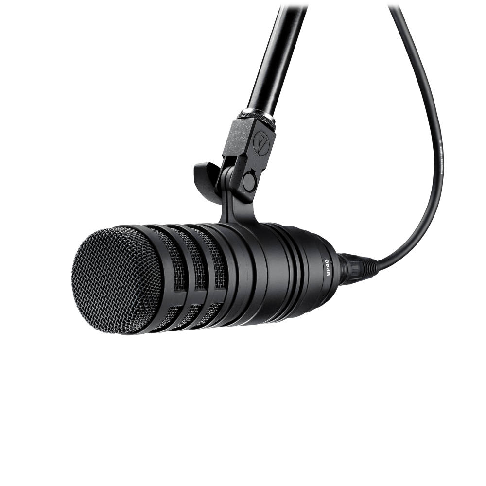 audio technica large diaphragm dynamic vocal microphone long mcquade musical instruments. Black Bedroom Furniture Sets. Home Design Ideas