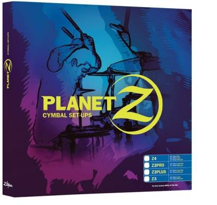 Planet Z Z3 Pro Pack 14''HH / 18''CR