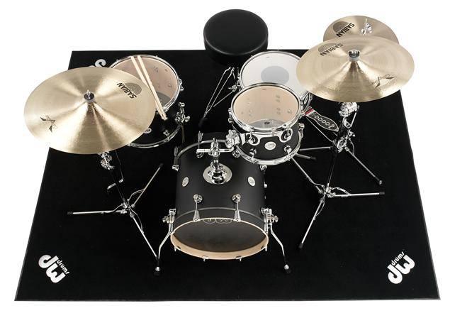 drum workshop large drum rug 5 39 x 7 39 long mcquade musical instruments. Black Bedroom Furniture Sets. Home Design Ideas