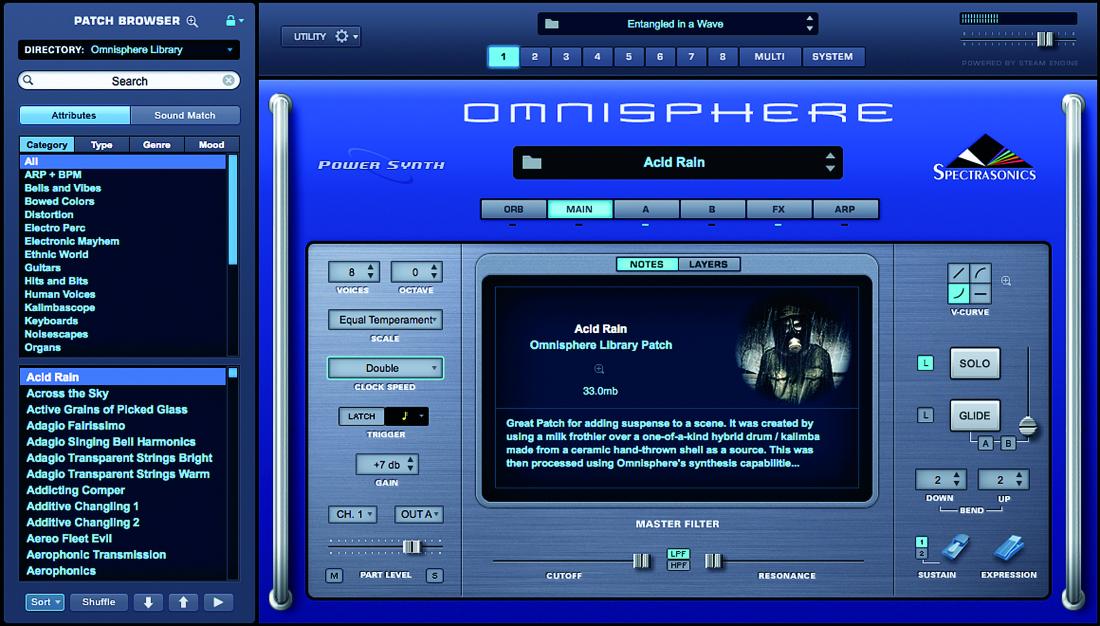 Spectrasonics Omnisphere 2 Virtual Instrument