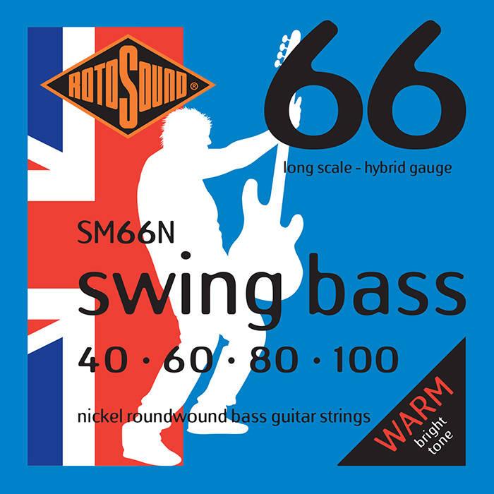 rotosound nickel bass string set 40 100 long mcquade musical instruments. Black Bedroom Furniture Sets. Home Design Ideas