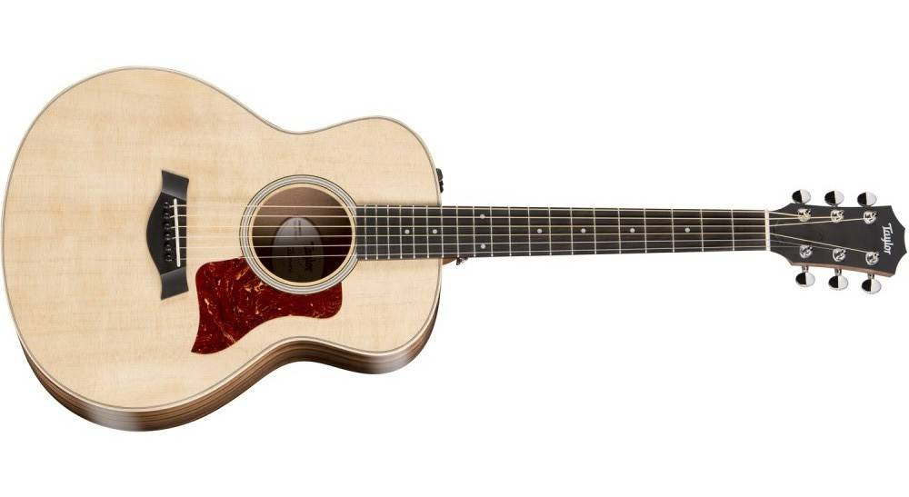 taylor guitars gs mini spruce rosewood acoustic electric guitar with bag long mcquade. Black Bedroom Furniture Sets. Home Design Ideas
