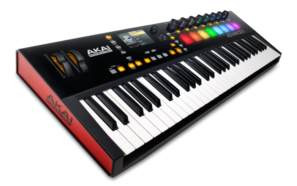 61-Key Semi-Weighted Keyboard Controller