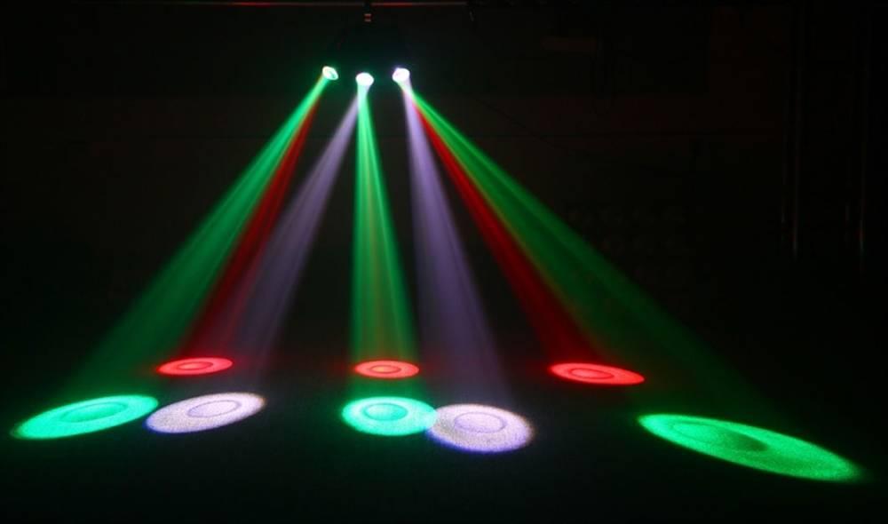 Microh LED Flat Beam Pro - 15x3-Watt RGBWA W/DMX - Long u0026 McQuade Musical Instruments