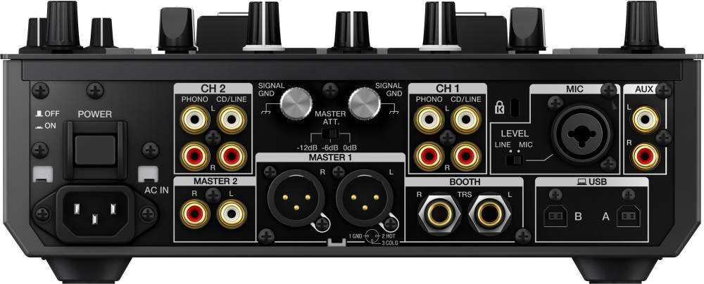 DJM-S9 Professional 2-Channel Mixer for Serato DJ - Black
