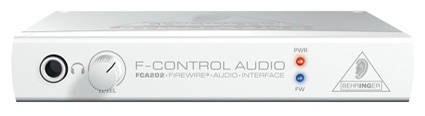 FCA202 - F-Control 2 In/2 Out 24-Bit/96 kHz Interface