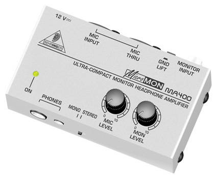 MA400 - Micromon Monitor Headphone Amp