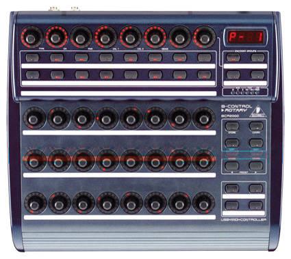 behringer bcr2000 b control fader usb midi controller long mcquade musical instruments. Black Bedroom Furniture Sets. Home Design Ideas