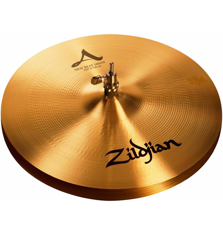 zildjian a series 15 inch new beat hi hats pair long mcquade musical instruments. Black Bedroom Furniture Sets. Home Design Ideas