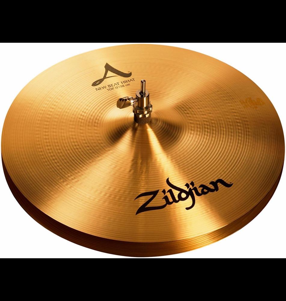 zildjian a series 15 inch new beat hi hats pair long mcquade musical instruments. Black Bedroom Furniture Sets. Home Design Ideas