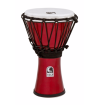 Toca Percussion - Freestyle Colorsound 7 Djembe - Metallic Red
