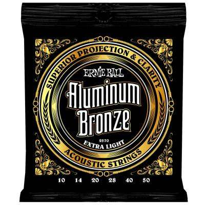 Aluminum Bronze Guitar Strings - Extra Light