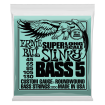Ernie Ball - Nickel Wound Super Long Scale Slinky 5 String Bass Strings - .045-.130