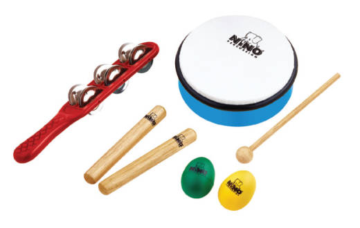 NINO Hand Percussion Rhythm Set - 5 Pieces