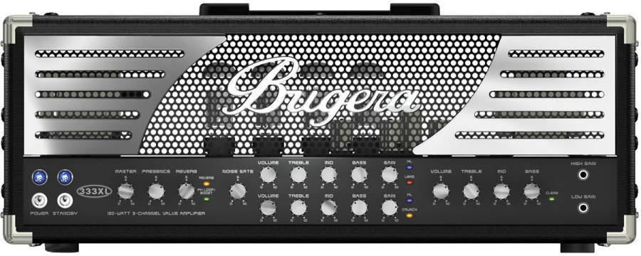 behringer bugera 333xl 3 channel 120w head with reverb long mcquade musical instruments. Black Bedroom Furniture Sets. Home Design Ideas