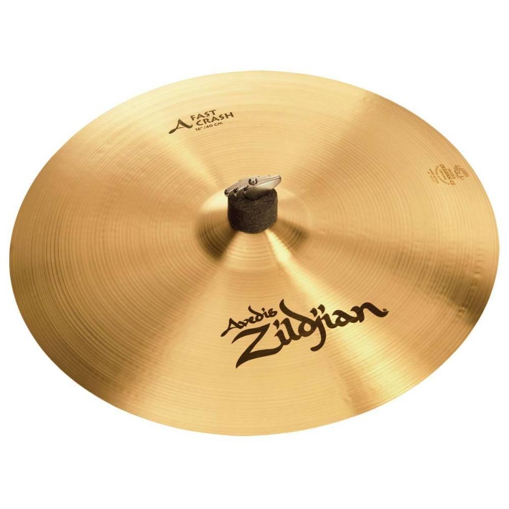 zildjian a fast crash cymbal 16 inch long mcquade musical instruments. Black Bedroom Furniture Sets. Home Design Ideas