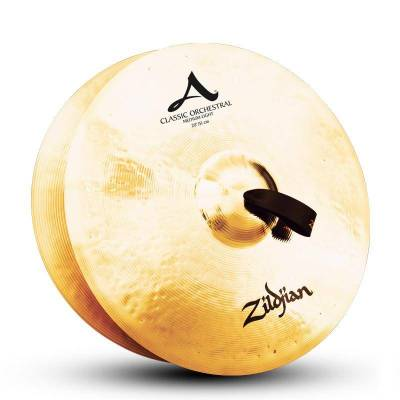 Classic Orchestral Selection Med Light Hand Cymbal Pair - 20 Inch