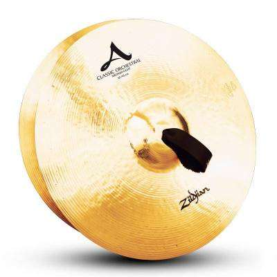Classic Orchestral Selection Med Light Hand Cymbal Pair - 18 Inch