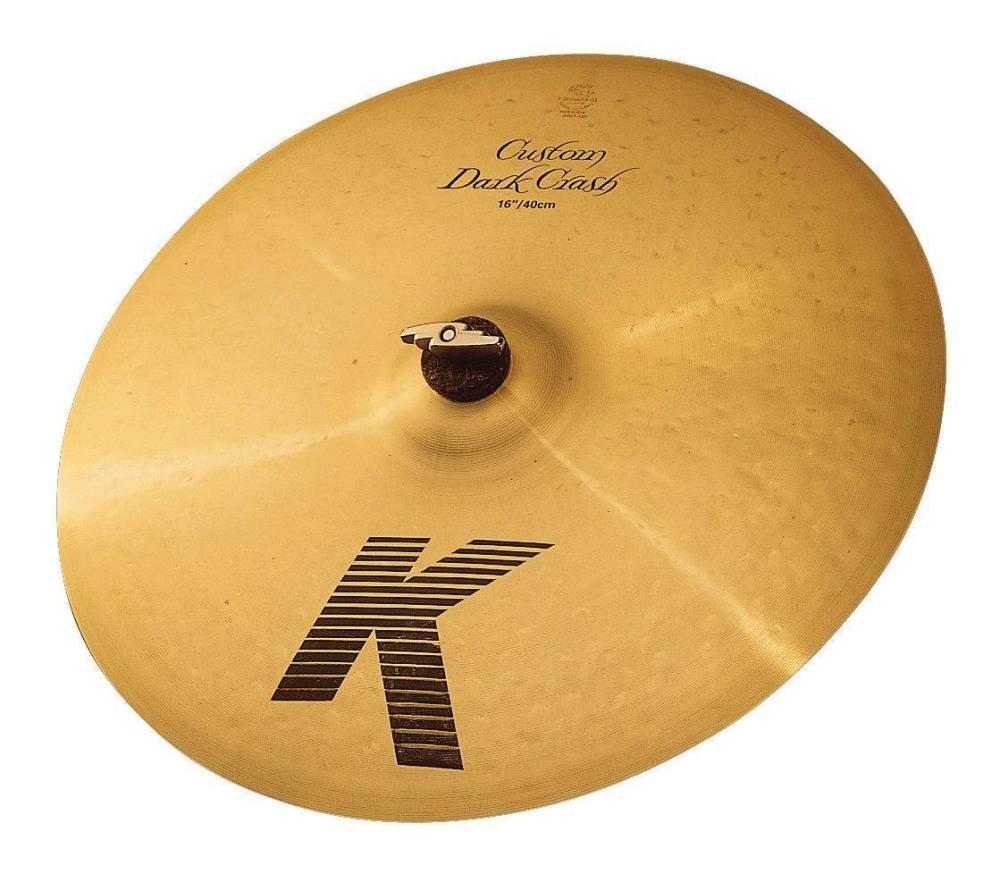 zildjian k custom dark crash cymbal 16 inch long mcquade musical instruments. Black Bedroom Furniture Sets. Home Design Ideas