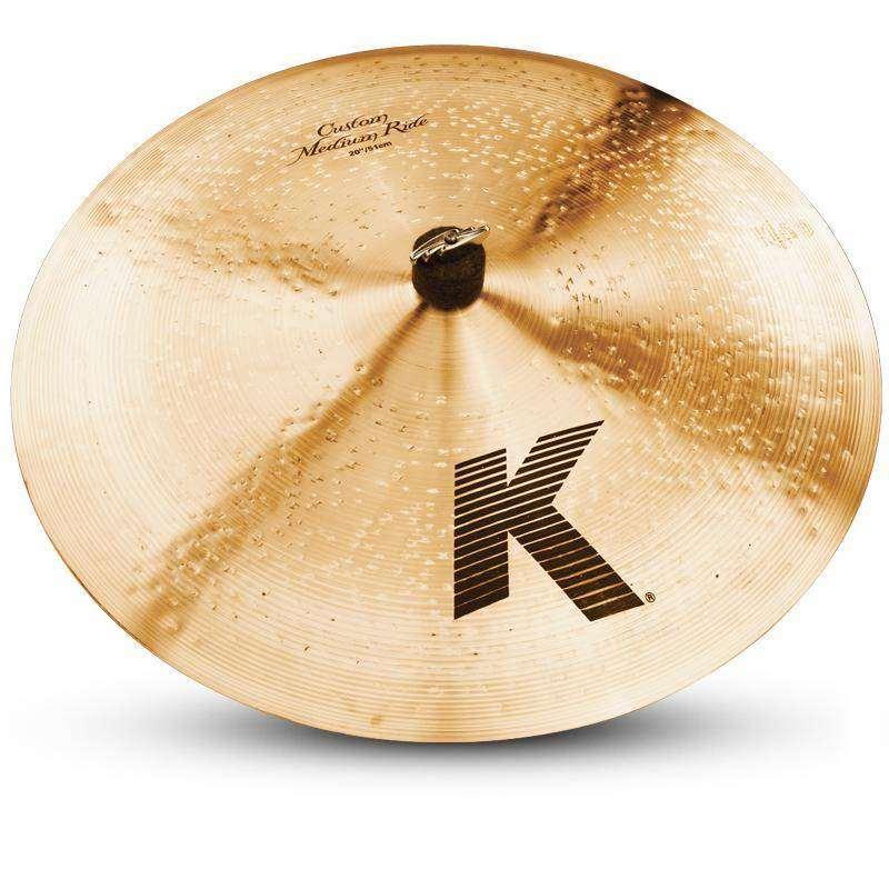 zildjian k custom medium ride cymbal 20 inch long mcquade musical instruments. Black Bedroom Furniture Sets. Home Design Ideas