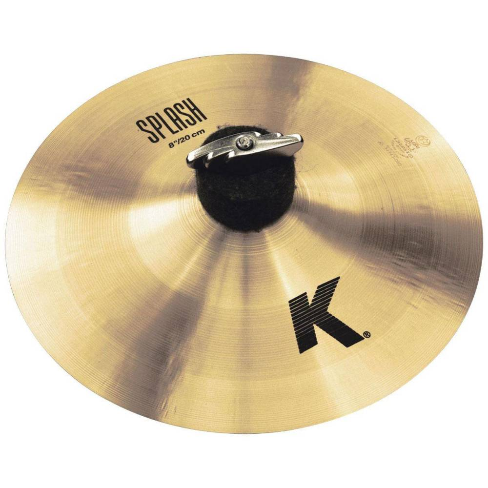 zildjian k splash cymbal 8 inch long mcquade musical instruments. Black Bedroom Furniture Sets. Home Design Ideas