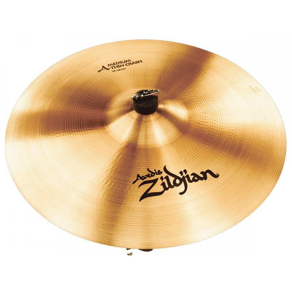 zildjian a medium thin crash cymbal 19 inch long mcquade musical instruments. Black Bedroom Furniture Sets. Home Design Ideas