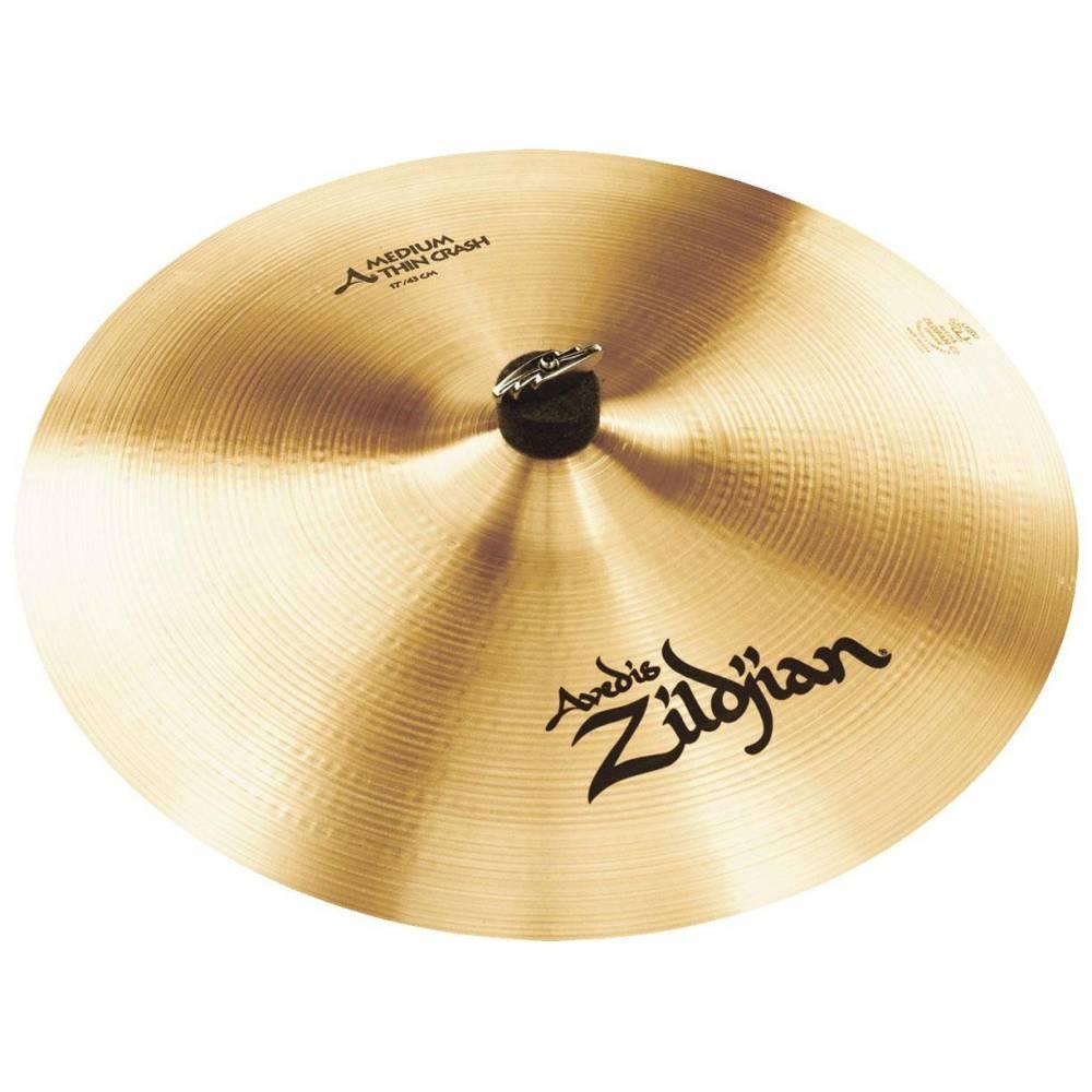 zildjian a medium thin crash cymbal 17 inch long mcquade musical instruments. Black Bedroom Furniture Sets. Home Design Ideas