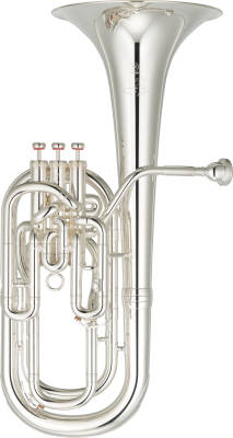Neo Series Compensating Baritone Horn - Silver Plate