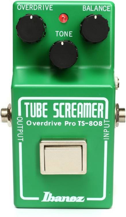 Ibanez Tube Screamer TS808 35th Anniversary Overdrive Pedal