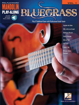 Bluegrass: Mandolin Play-Along Volume 1 - Book/Audio Online