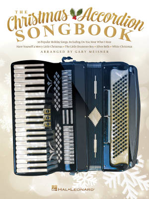 The Christmas Accordion Songbook - Meisner - Book