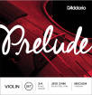 DAddario Orchestral - Prelude Violin Medium Tension Strings 3/4