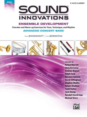 Sound Innovations for Concert Band: Ensemble Development for Advanced Concert Band - Boonshaft/Bernotas - Eb Alto Clarinet