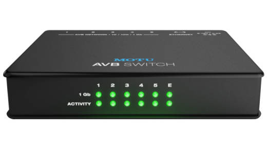 5-Port AVB Ethernet Switcher