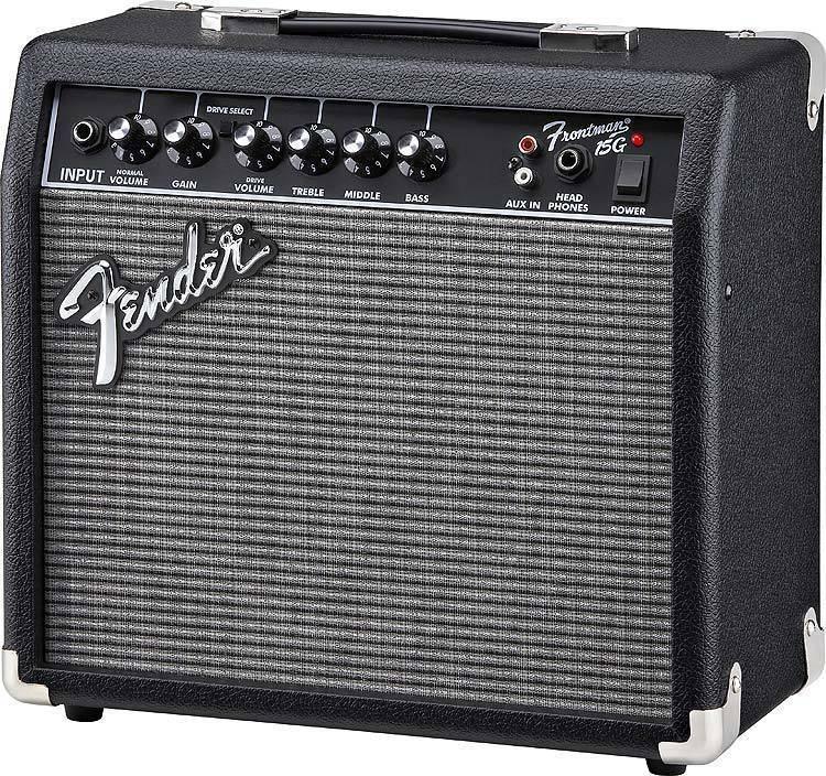 fender frontman 15g guitar amp manual