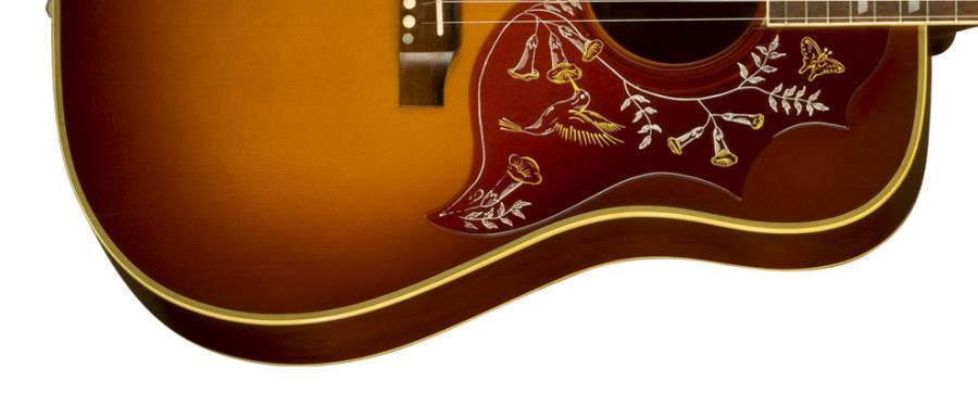 Hummingbird True Vintage Acoustic Guitar - Heritage Sunburst